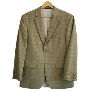 Club Room Macy's 38S Houndstooth Sport Coat